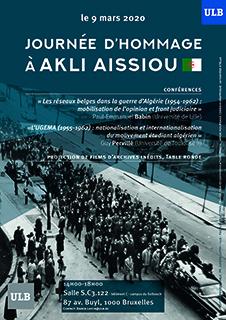 Affiche Hommage Akli Aissou