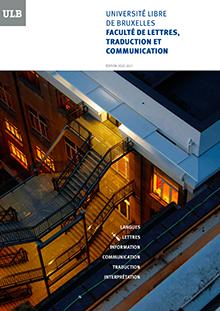 Brochure Faculté LTC - Année académique 2020-2021